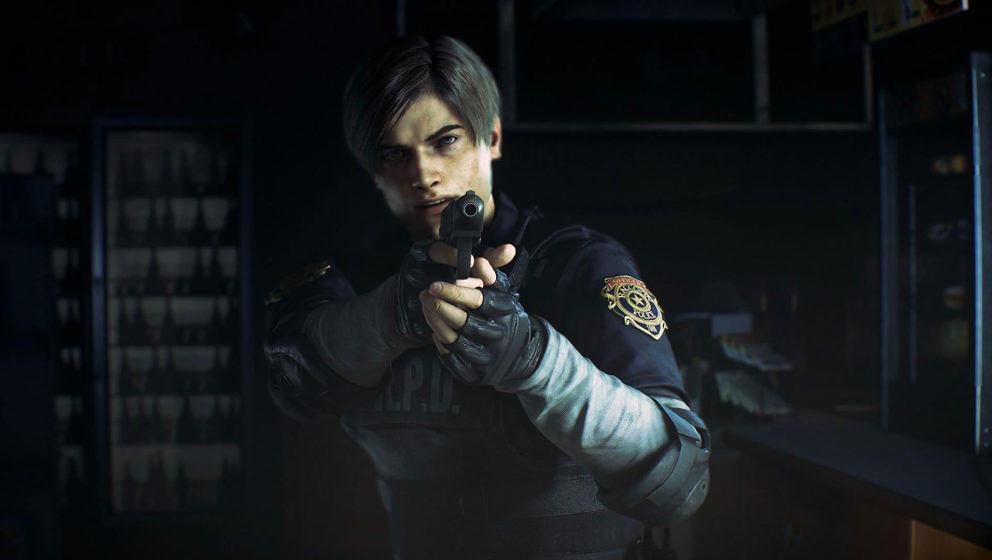 """Leon S. Kennedy kämpft auch im Remake von """"Resident Evil 2"""" wieder gegen Zombies und andere Kreaturen – und auch in Deutschland uncut"""