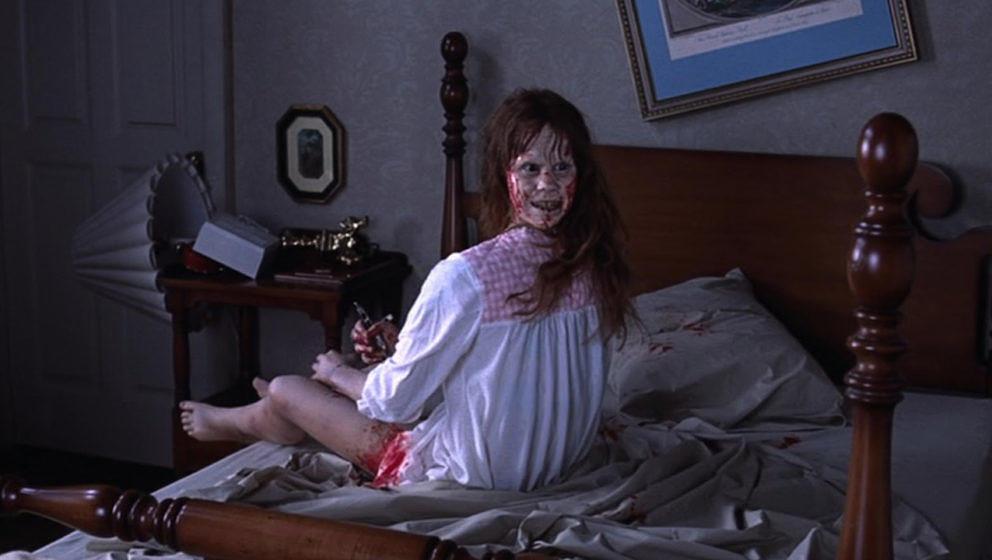 """Linda Blair jagt uns im Klassiker """"Der Exorzist"""" Angst ein."""