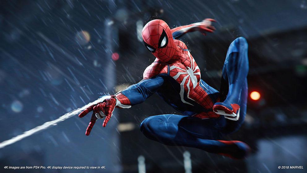 Spider-Man schwingt sich durch Manhattan