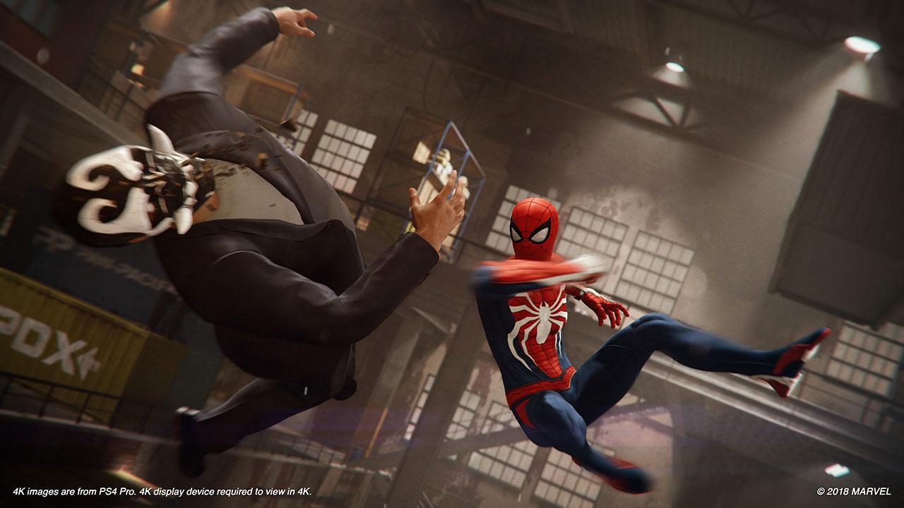 """Kämpfe in """"Spider-Man"""" sind fordernd und sehr abwechslungsreich"""