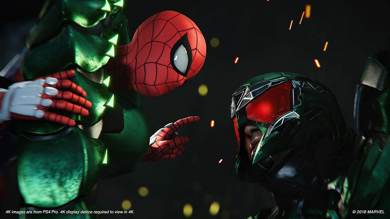 Spider-Man gegen Scorpion