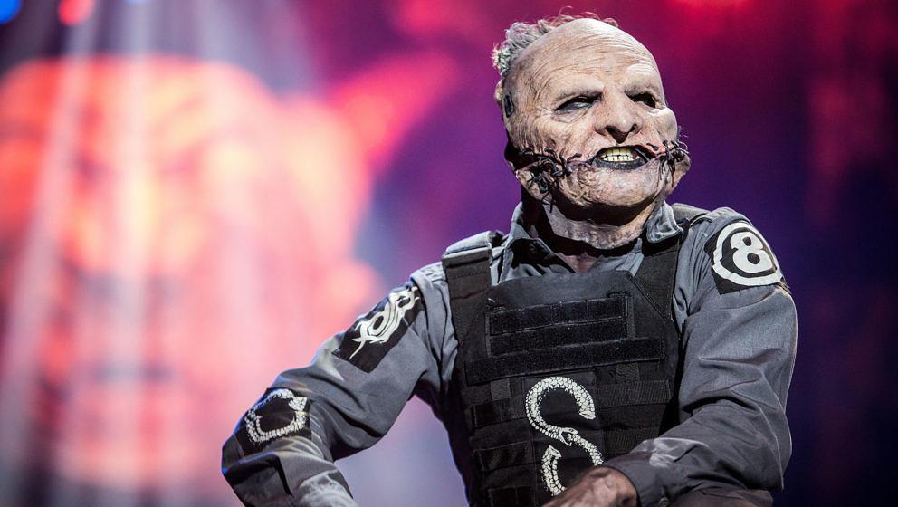 Corey Taylor bei einem Live-Auftritt von Slipknot im Jahr 2015