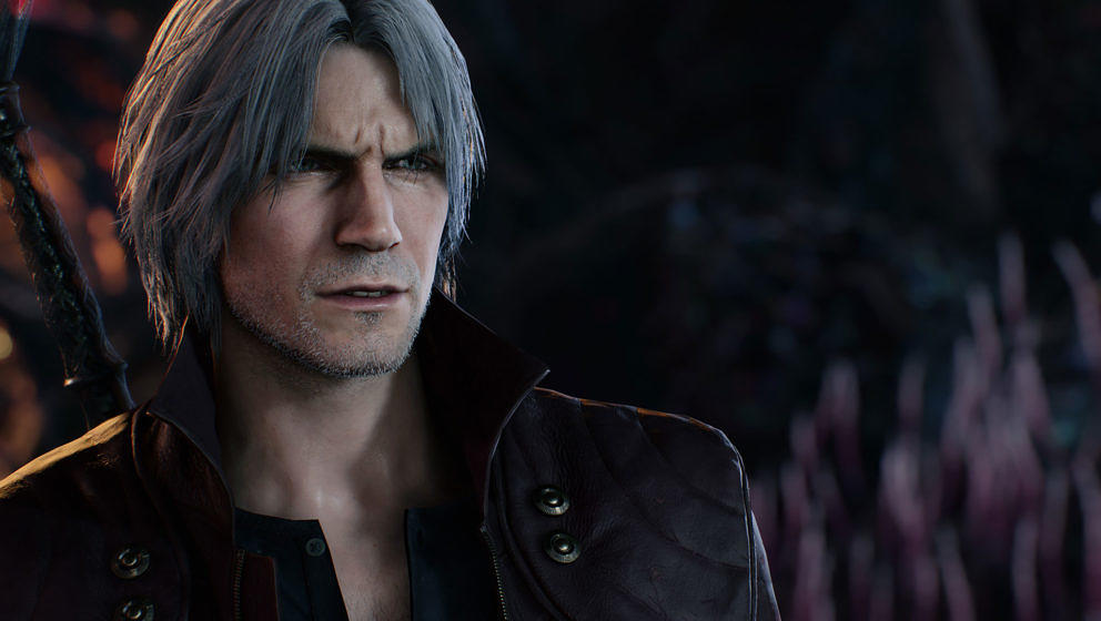 "Dante in ""Devil May Cry 5"""