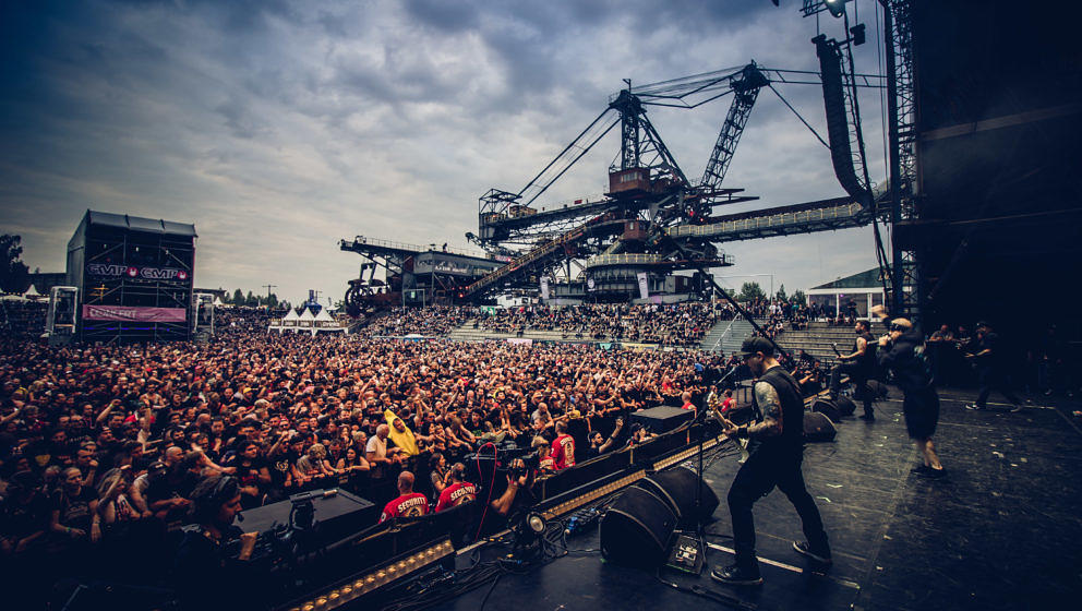 Hatebreed 2018 beim With Full Force