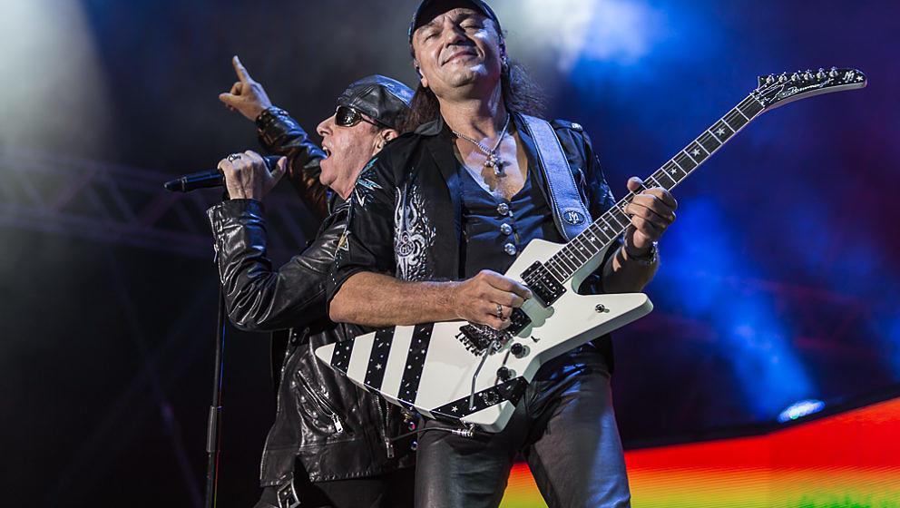 Klaus Meine (l.) und Matthias Jabs von den Scorpions