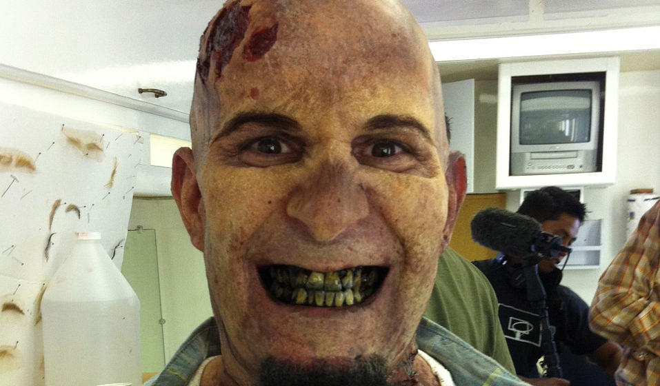 Scott Ian als Zombie bei 'The Walking Dead'