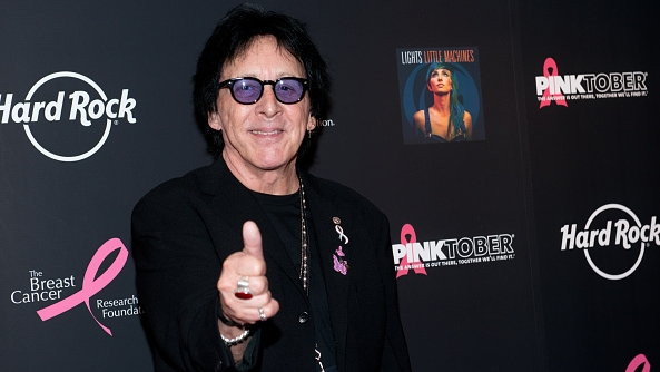 NEW YORK, NY - SEPTEMBER 30:  Musician Peter Criss of the band KISS attends the 2014 Pinktober Concert at Hard Rock Cafe - Ti