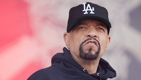 CASTLE DONINGTON, ENGLAND - JUNE 10:  Ice T of Bodycount performs during Download Festival at Donington Park on June 10, 2018