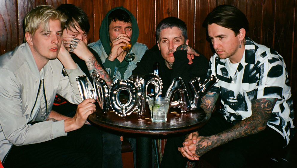 Bring Me The Horizon in ihrem neuen Look