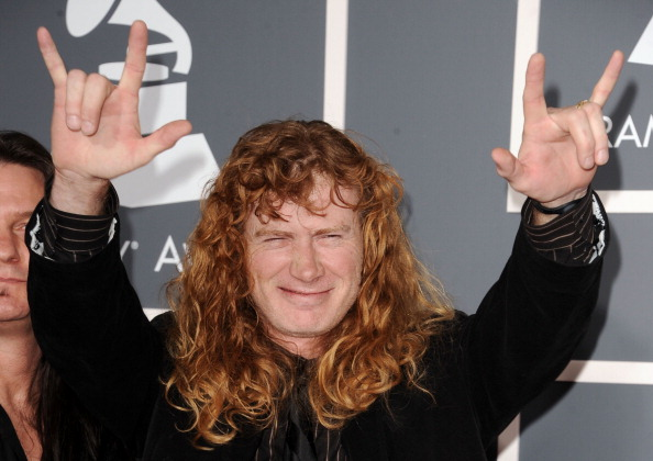 Dave Mustaine bei den GRAMMY Awards am 13.2.2011