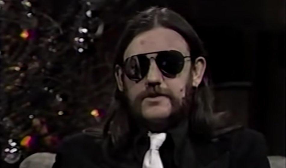 Lemmy Kilmister 1985 bei 'Heavy Metal Mania'