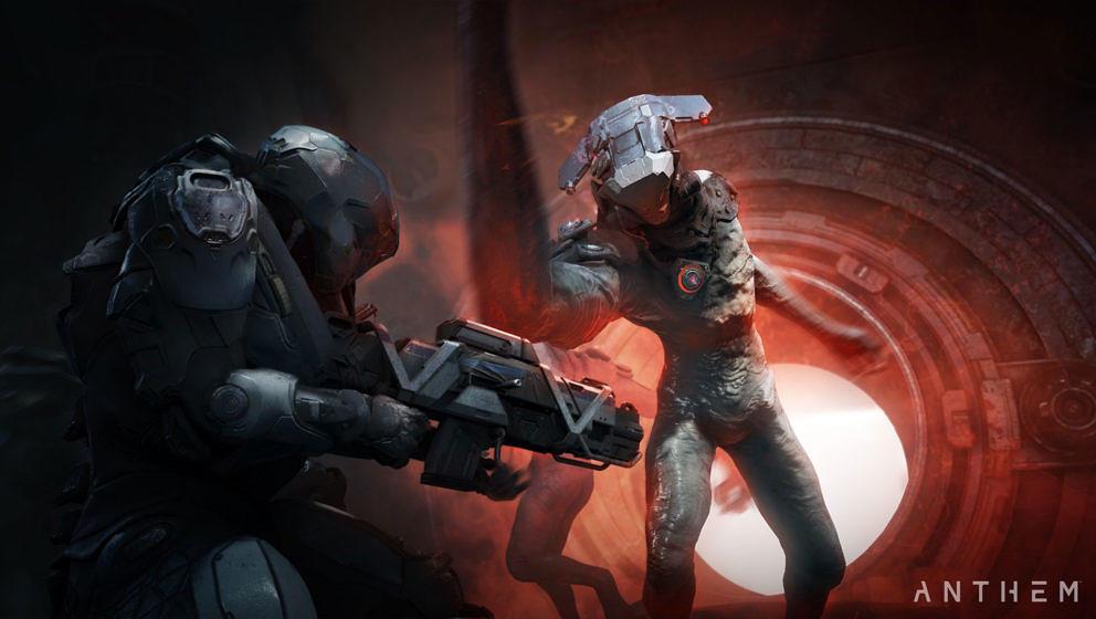 """""""Anthem"""" erscheint am 22. Februar 2019 für PS4, Xbox One und PC."""