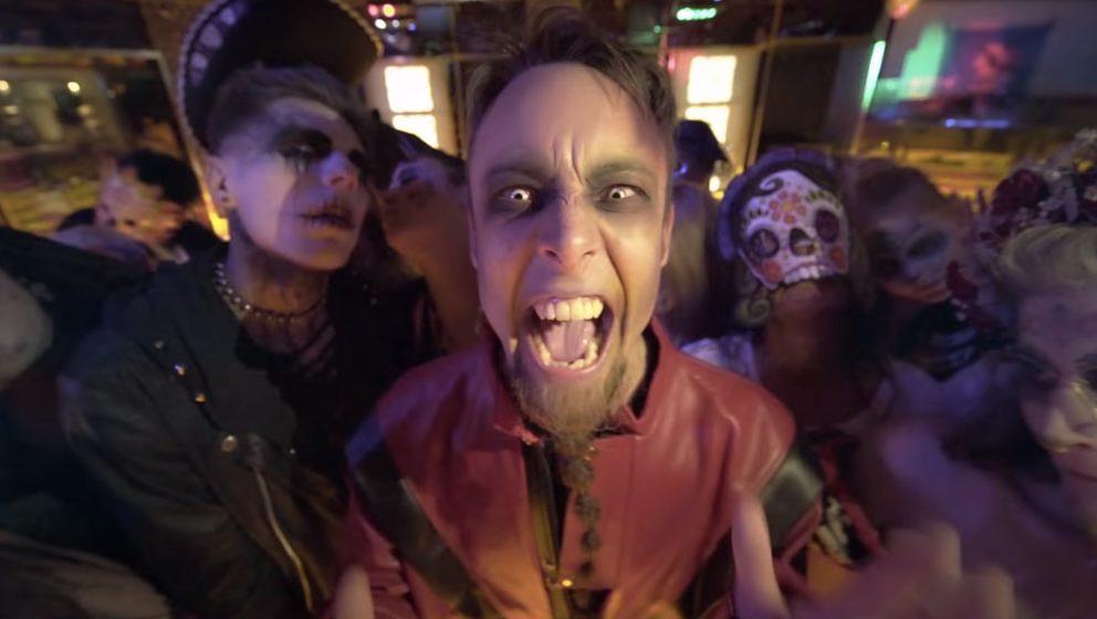 Leo Moracchioli im Video zu seinem 'Thriller'-Cover
