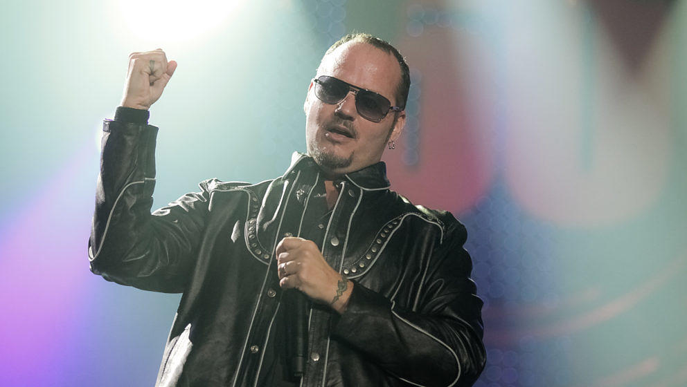 Tim 'Ripper' Owens, Wembley Arena, 22. September 2012 in London.