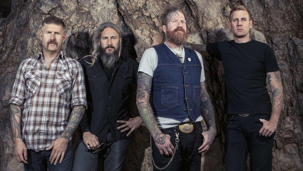 Mastodon-Gitarrist Bill Kelliher (l.) fühlt sich durch die Corona-Krise eingeengt