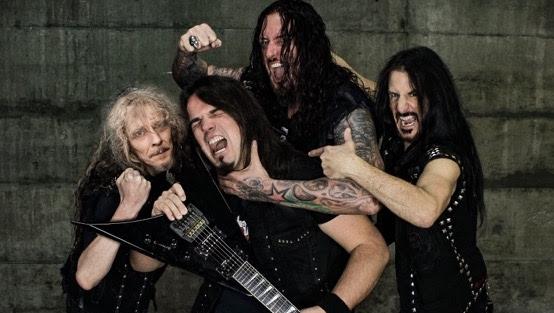 Die neue Destruction-Besetzung: Mike Sifringer und Damir Eskic an den Gitarren, Schmier am Bass sowie Randy Black an den Drums (v.l.)