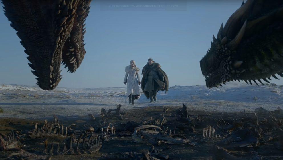 Eine Szene aus der letzten Staffel von Game Of Thrones