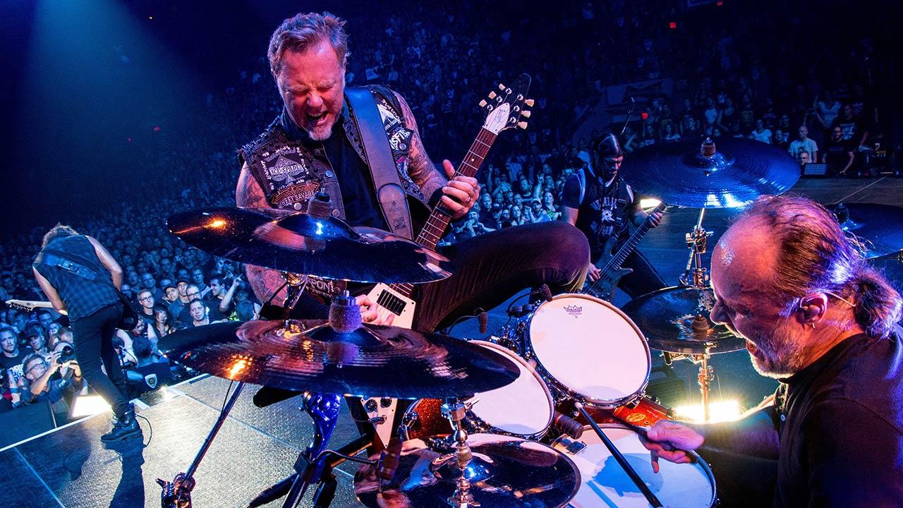 Lars Ulrich gründete Metallica mit James Hetfield.