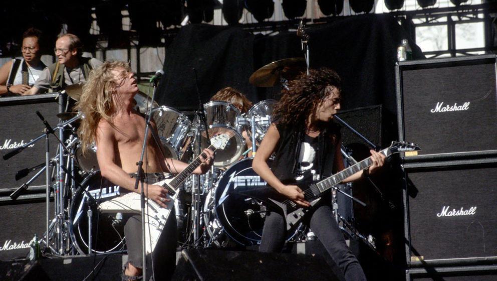 Auch Metallica ließen sich von Stephen King inspirieren.