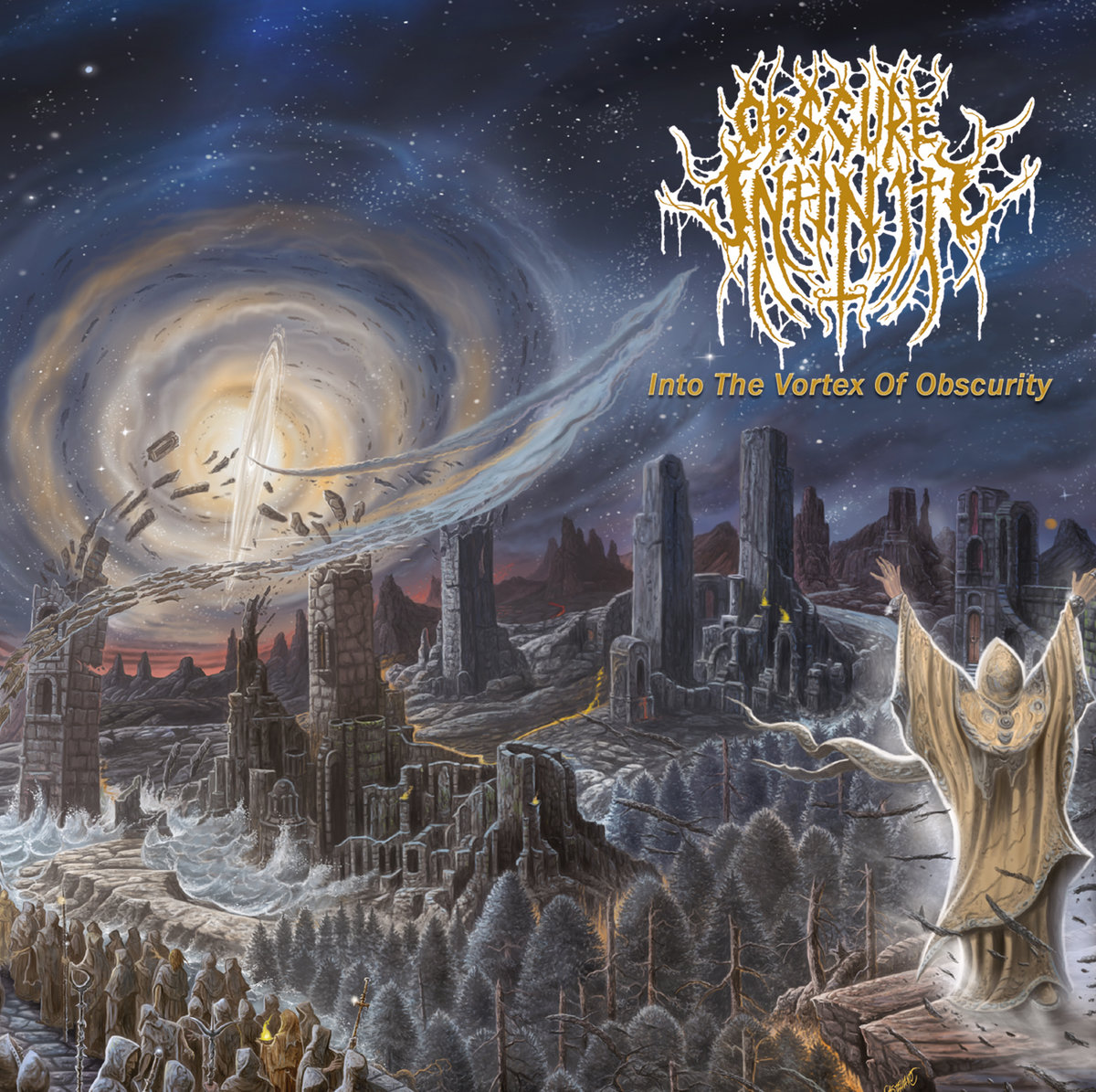 Kritik zu Obscure Infinity INTO THE VORTEX OF OBSCURITY