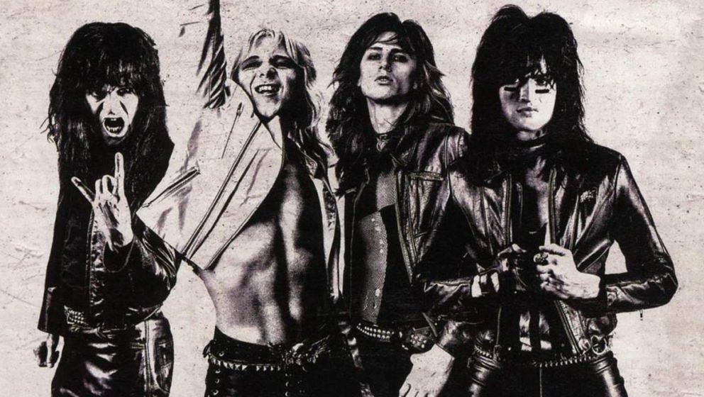 Die vier Protagonisten aus dem Mötley Crüe-Film 'The Dirt'