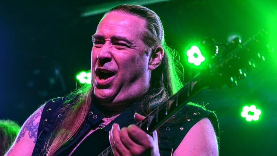 Ex-Manowar-Gitarrist David Shankle