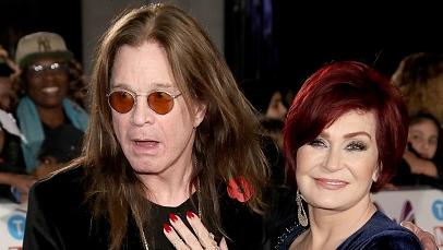Ozzy und seine Gattin Sharon Osbourne