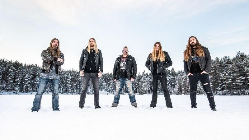 Sabaton im schwedischen Winter