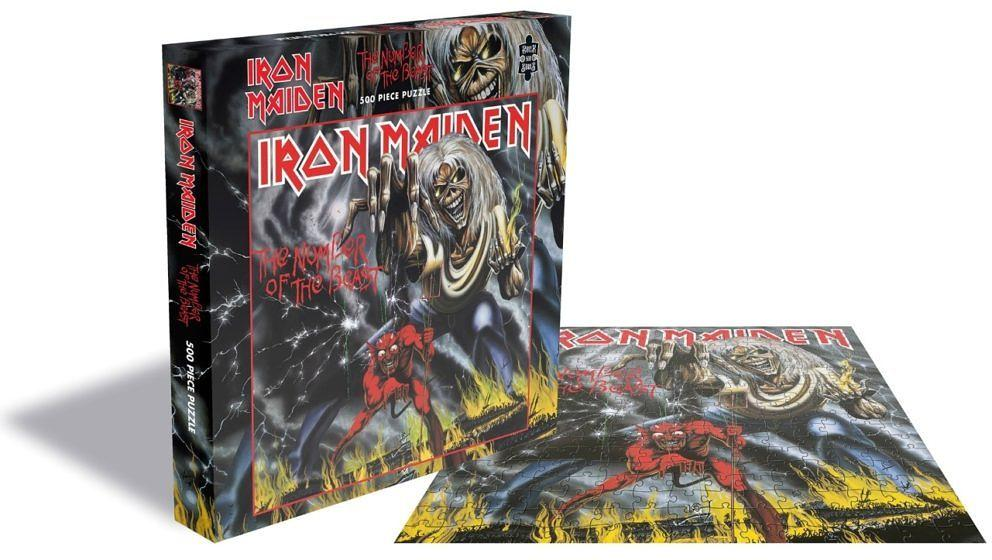 Es dürfte sehr viel Freude bereiten, das ikonische Cover-Artwork des Iron Maiden-Klassikers THE NUMBER OF THE BEAST zu puzzeln