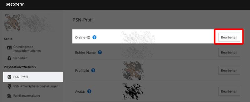 PSN: So ändert ihr eure Online-ID über den Webbrowser