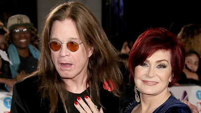 LONDON, ENGLAND - OCTOBER 30:  Ozzy and Sharon Osbourne attend the Pride Of Britain Awards at Grosvenor House, on October 30,