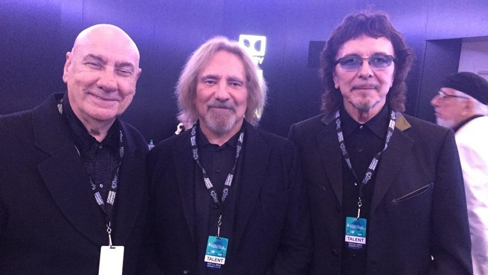 Bill Ward, Geezer Butler und Tony Iommy von Black Sabbath beim 'Grammy Salute to Music Legends'