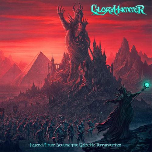 Gloryhammer LEGENDS FROM BEYOND THE GALACTIC TERRORVORTEX