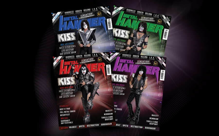 Die METAL HAMMER Juli-Ausgabe 2019: Kiss, Baroness, Abbath, Heilung u.v.a.