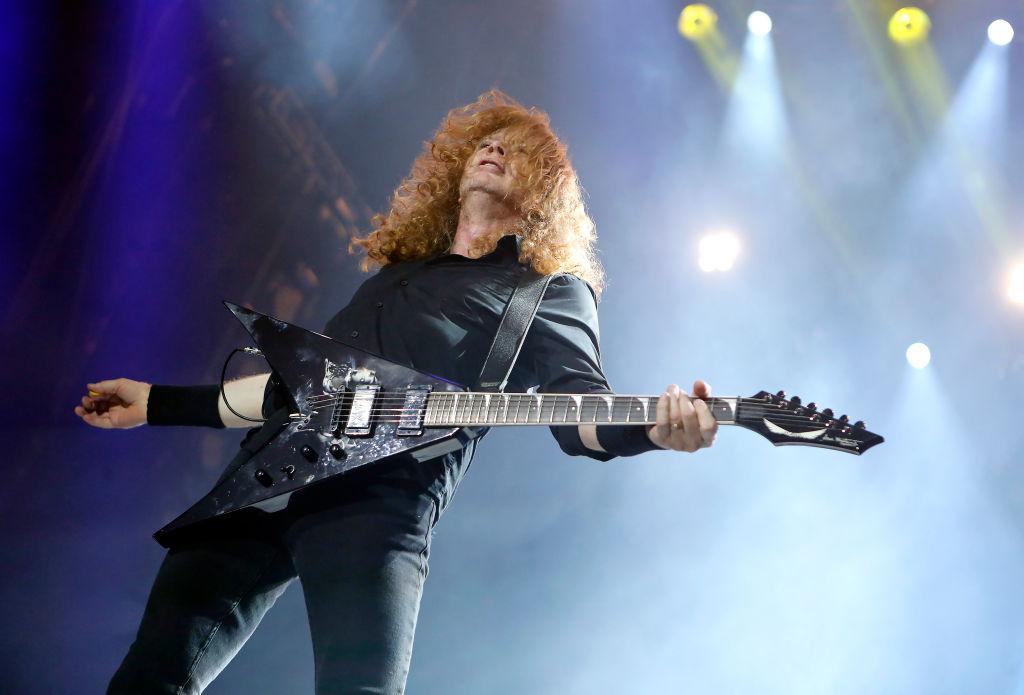 Megadeth-Frontmann Dave Mustaine leidet unter Kehlkopfkrebs