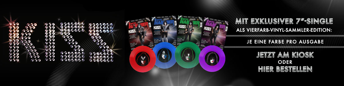 Kiss - Exklusive Vinyl-Single in 07/19