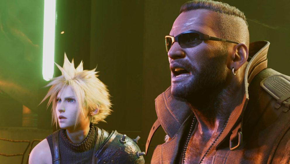 "Szene aus ""Final Fantasy VII"""