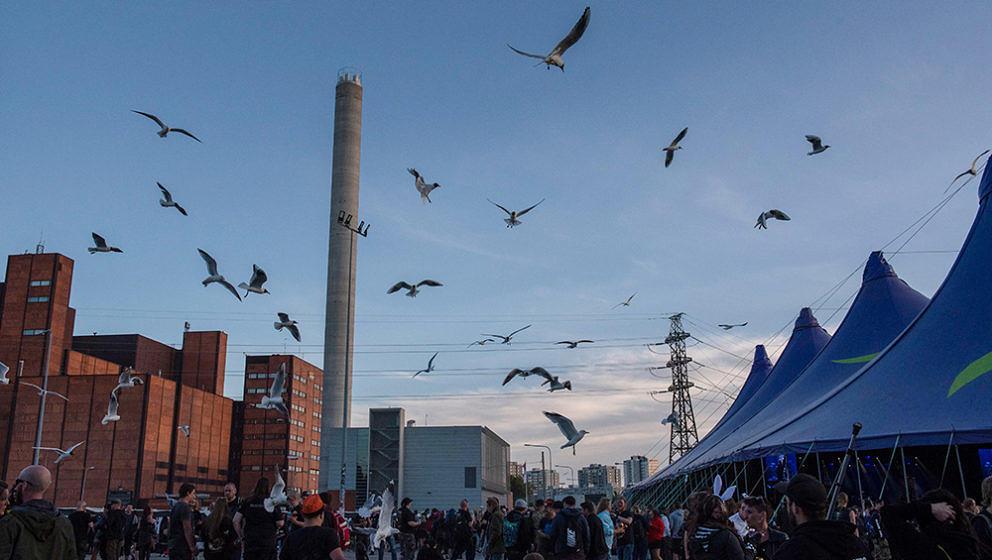 Swallow The Sun, Tuska Festival, Helsinki, Finnland