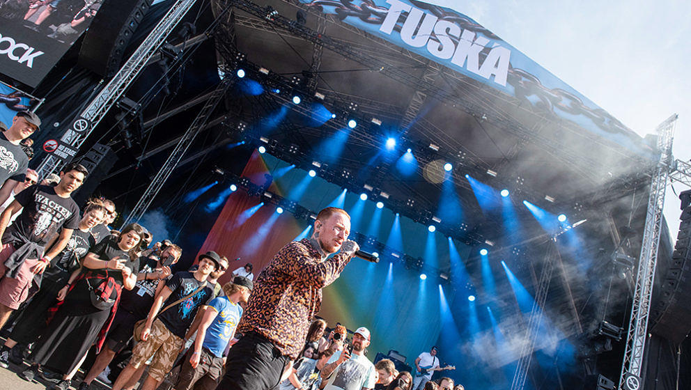 Frank Carter & The Rattlesnakes, Tuska Festival, Helsinki, Finnland