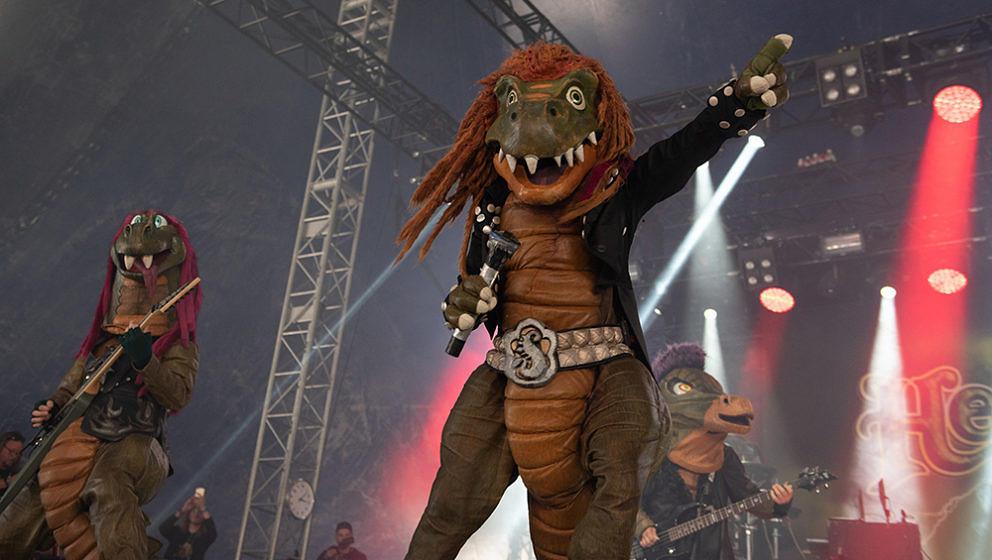 Hevisaurus, Tuska Festival, Helsinki, Finnland