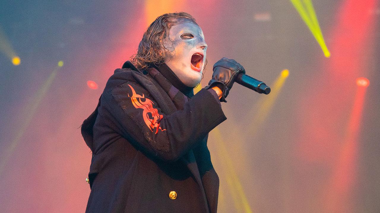 Corey Taylor während eines Live-Auftritts von Slipknot (hier beim Download Festival 2019)