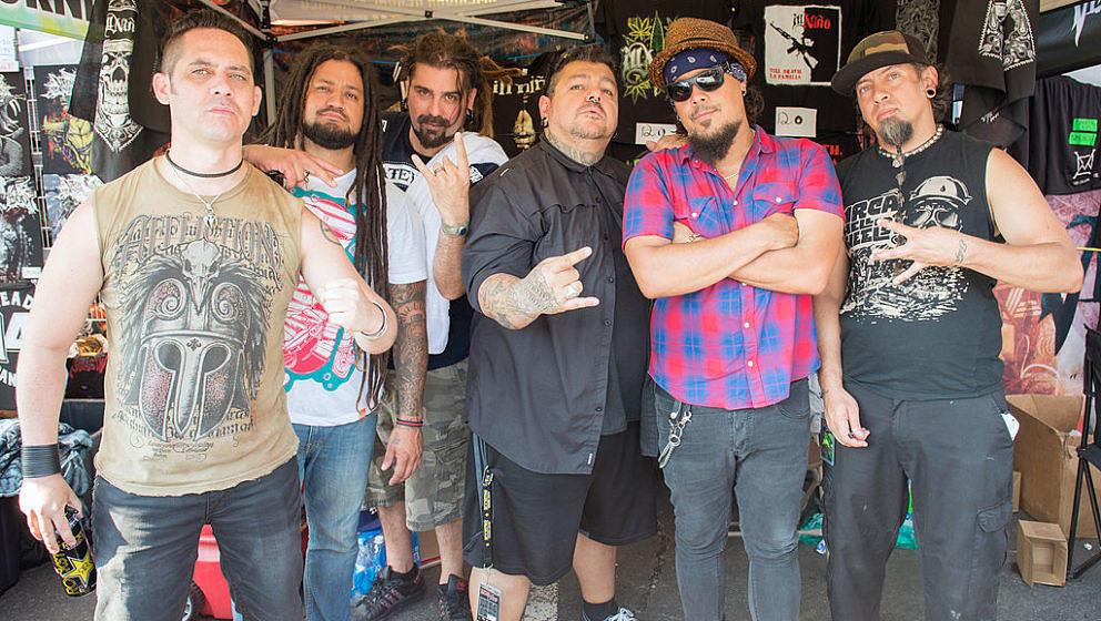 HARTFORD, CT - JULY 27:  Ill Nino attends the 2014 Rockstar Energy Drink Mayhem Festival at Xfinity Theatre on July 27, 2014