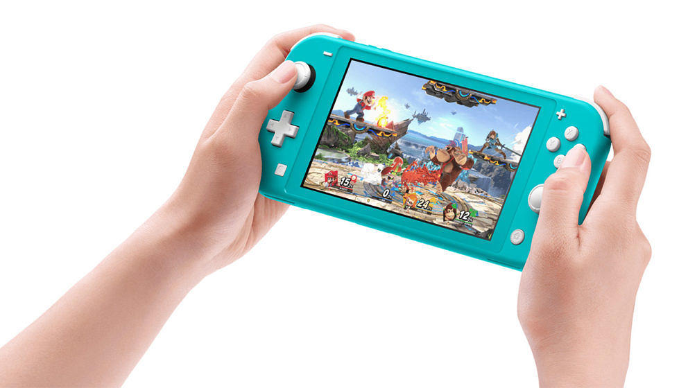 Nintendo Switch Lite erscheint am 20. September 2019