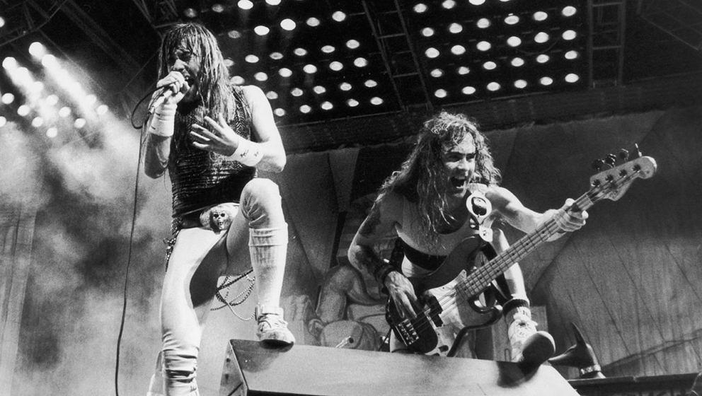 Iron Maiden: Live ein Spektakel.