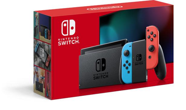 Verpackung der neuen Nintendo Switch