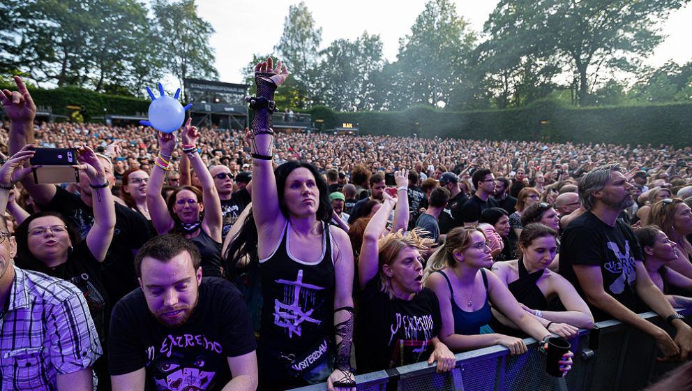 Fans, In Extremo, Stadtpark Open Air, Hamburg, 27.07.2019