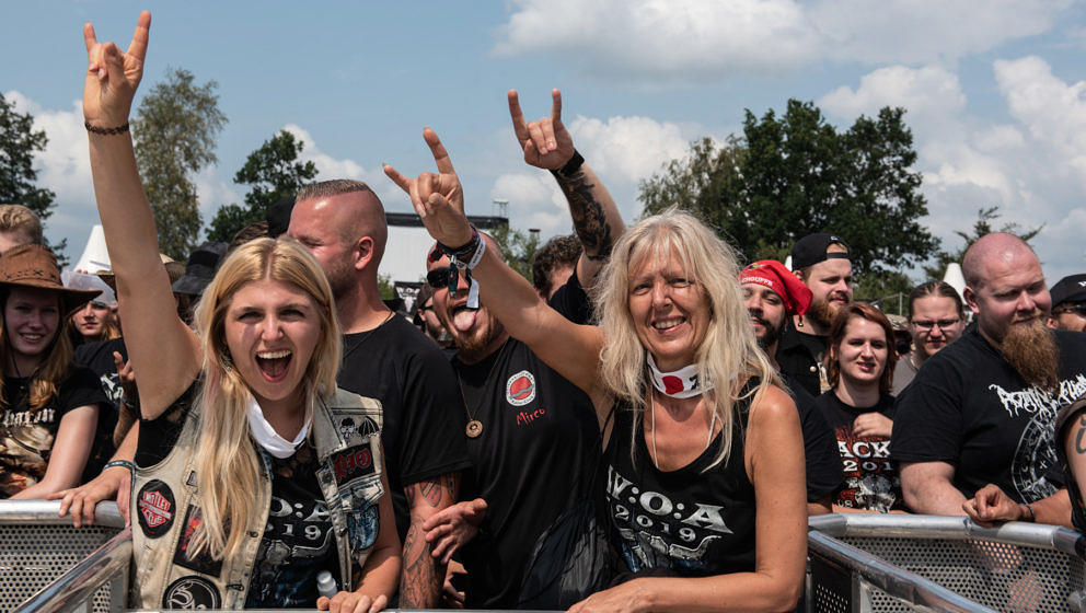 Fans beim Wacken Open Air 2019