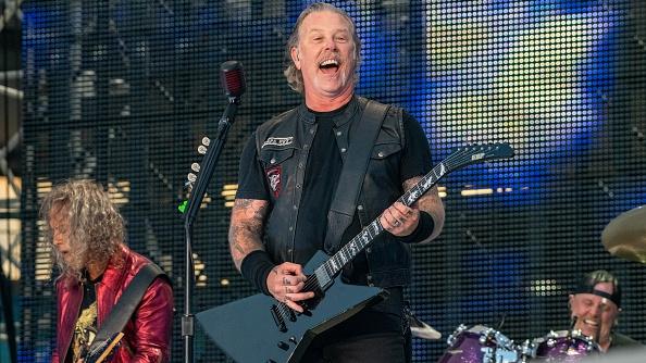 James Hetfield von Metallica bei der Stadion-Show am 9. Juli 2019 in Göteborg