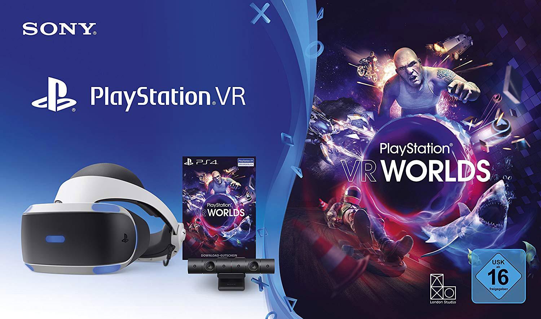 Das Starter-Set von PS VR