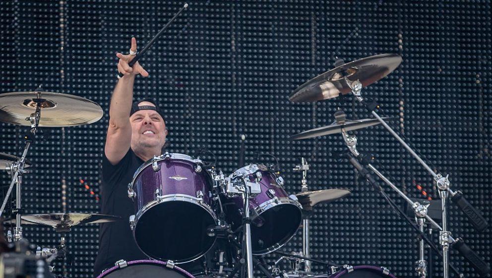 Lars Ulrich beim Metallica-Konzert am 13. Juli 2019 in Trondheim